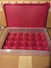 new Tupperware COLD CUT KEEPER snack store container w/3 deviled egg tray insert