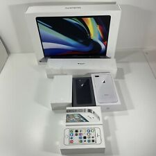 Lot (7) Apple Retail Boxes -Empty + 4S 5S 6 8 8+ Series 3 Watch MacPro