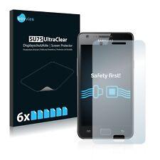 6x Samsung Galaxy S2 Displayschutzfolie Klar Transparent Schutzfolie