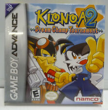 KLONOA 2 DREAM CHAMP TOURNAMENT NINTENDO GBA NEW SEALED NTSC REGION FREE RARE