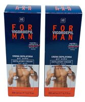 MENS HAIR REMOVAL DEPILATORY CREAM HAIR REMOVER REMOVAL FOR CHEST BACK LEGS ARMS