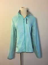 Smartwool Women's PhD Ultralight Sport Jacket Teal Grey Sz M