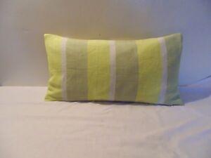 Designers Guild 100% Linen Fabric Brera Striscia Alchemilia Cushion Cover