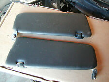 BMW sunvisor set, black, with mountings  and clips, from 1991 318i, #54