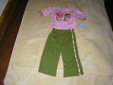 BRAND NEW WITH TAGS DISNEY WINNIE POOH TOP AND TROUSERS SET GIRL AGE 24 MNTHS