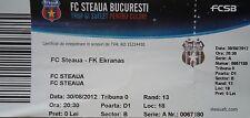 TICKET UEFA EL 2012/13 Steaua Bukarest - FK Ekranes