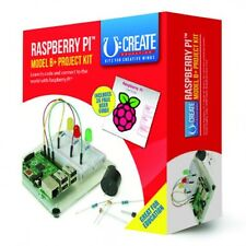 RPI B + B Plus) proyecto Kit-V1.2 Boards - 512 Mb Ram, 4 X Usb, 40 GPIO, Hdmi.