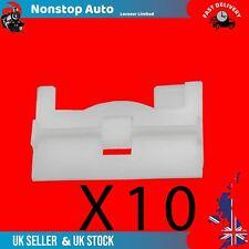 10 x Vauxhall Moulure porte passage de roue Boot Panel Trim Clips