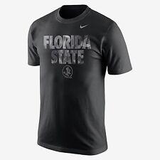 Nike Florida State FSU Diamond Quest TRAVEL DRI-FIT Black T-SHIRT MEN'S XXL