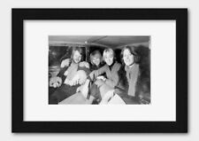 More details for abba - group picture in 1977 print black frame white a3 (29.7x42cm)