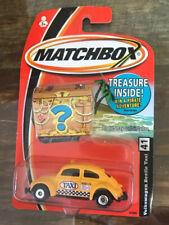 Matchbox Treasure Chest  - VW Beetle Taxi - 1:64 //NOC//