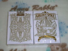 Golden Spike Gold Edition Playing Cards Deck Poker by Jody Eklund