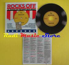 CD ROCKS OFF compilation PROMO 2012 HIATT IMPALA TUFF  (C8) no mc lp