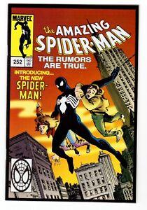 Amazing Spider-Man #252 (Toy Biz Variant) 1st App Black Costume NM- 9.2