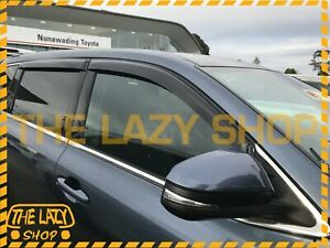 Weathershields, Weather Shields for Toyota Kluger 13+ Window Visors