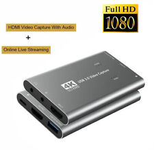 Video Capture Card USB 3.0 HDMI-compatible Game Plug And Play Live Streaming
