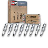 8 pc Champion Copper Plus Spark Plugs for 2005-2015 Nissan Armada 5.6L V8 if