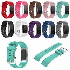 Bracelet de remplacement bracelet Strap Band Pour Fitbit charge 2 Classique Bouc...