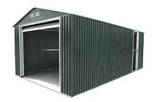 DuraMax 12X20 Metal Garage with Roll Up Door (Gray) [50951]
