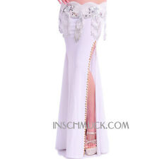 C26 Sexy Belly Dancing Costume Skirt with Slots Tribal Fusion