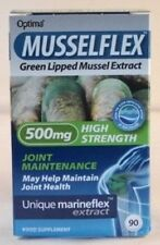 Musselflex, Green Lipped Mussel Extract 500mg High Strength (90) BBE 09/2022