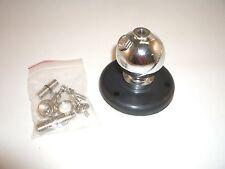 OPEK AM-602L HEAVY DUTY 2 IN ANTENNA SWIVEL BALL MOUNT & 3-1/2 IN PLATE  w/ LUGS