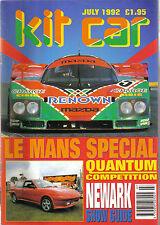 Kit voiture ° 7/92 mini Marcos Fortune 500 Ultima Mans Patrimoine ram lr type C +