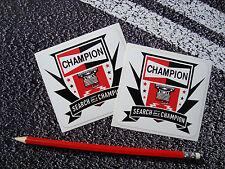 Champion spark plug search for a champion stickers f1 superbikes subaru rally