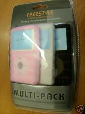 Pack of 3 Silicon Ipod Video cases, NEW, for original model only