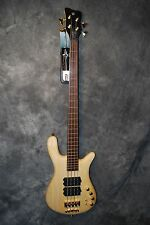 Warwick Streamer $$ 4 String Bass Guitar Natural NEW