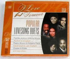 VARIOUS 2 Love Forever - POPULAR LOVESONG DUETS / R&B - CD Sigillato