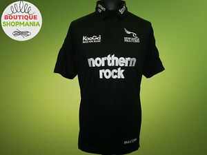 NEWCASTLE FALCONS HOME 2004-2006 (L) KooGa RUGBY UNION AVIVA RUGBY SHIRT Maillot