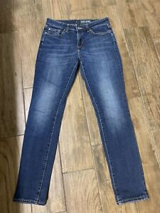 Womens GAP Always Skinny Blue Jeans size 4/27