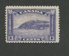 1932 Canada The Citadel at Quebec 13c Postage Stamp #201 Catalogue Value $85