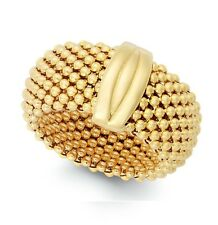 14K gold Mesh flexible ring EJLR7200