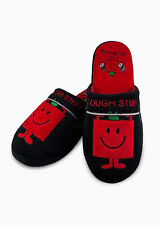 Mr Men & Little Miss – Mr Strong Adult Mule Slippers UK Size 8-10