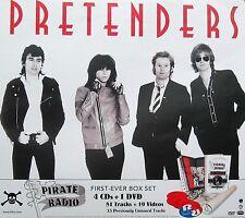 PRETENDERS POSTER, PIRATE RADIO PROMO (P5)