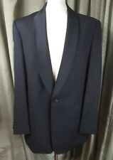 Marks & Spencer Super 100s Wool Evening Dinner Suit Shawl Collar C42L W36 L33