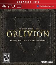 The Elder Scrolls IV: Oblivion - Game of the Year Edition [PlayStation 3 PS3]