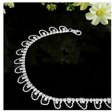 Rhinestone Charms Sale Jewelry Metal Wedding Drop Bracelet Anklet Chain Ankle