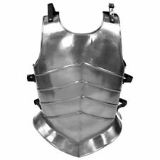 Medieval Roman Muscle Plate  Armor chrome finish Armor jacket