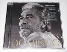Domingo : Songs (CD, 2012) Plácido Domingo - Sony - new