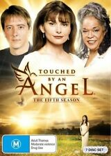 TOUCHED BY AN ANGEL - SEASON 5 - DVD - Region 2 UK Compatible - sealed