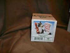Fitz & Floyd Charming Tails Figurine Mackenzie'S Wish List Christmas