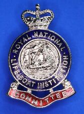 More details for royal national lifeboat institution rnli pin badge qc committee [22497]