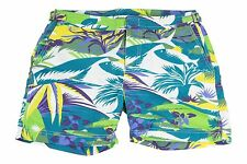 NWT Etro 100% Polyamide Men's Swim Trunks Multi-Color Beach - XS