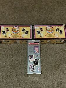 Lot of 2 1991 -1992 UPPER DECK NBA BASKETBALL FACTORY SEALED SET INAUGARAL...