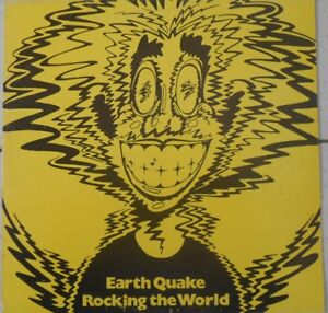 Earth Quake Rocking The World 33T LP france french pressing BZZ 401 008