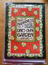 Mary Engelbreit Note Cards 7 Happiness Must Be Grown Yellow Roses