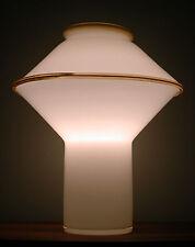 GREAT Vtg 60s/70s Mcm VETRI Murano SPACE Age UFO Sculptural ART GLASS Retro LAMP